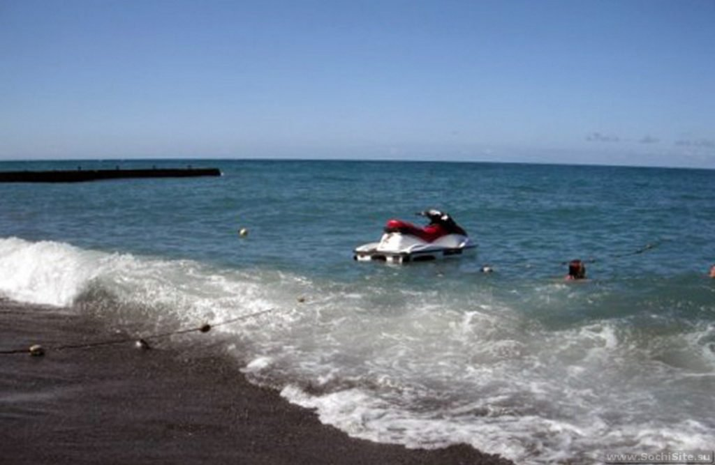 Пляж Альбатрос - береговая линия