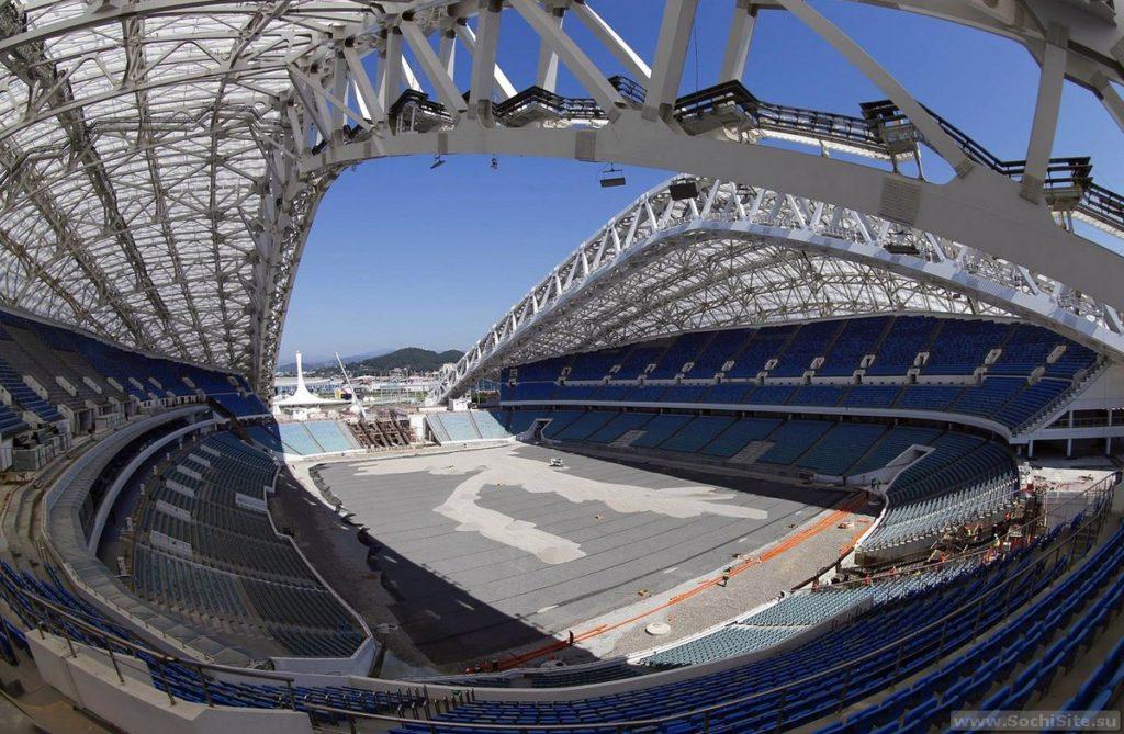 Стадион Фишт - подготовка к чемпионату мира