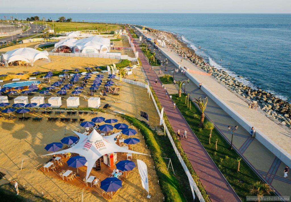 Имеретинский отель - путь к пляжу