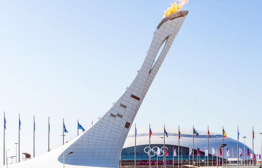 олимпийский огонь сочи фото