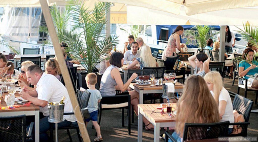 Ресторан Бригантина Сочи фото