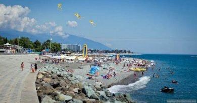 Пляж Богатырь Сочи
