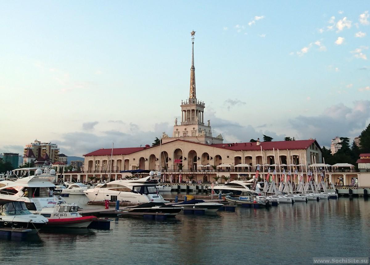 Морской вокзал Сочи - фото, описание и расположение