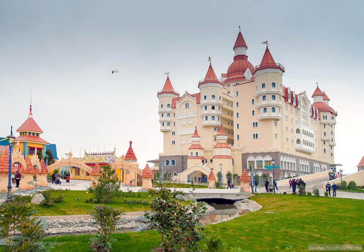 Сочи гостиница замок