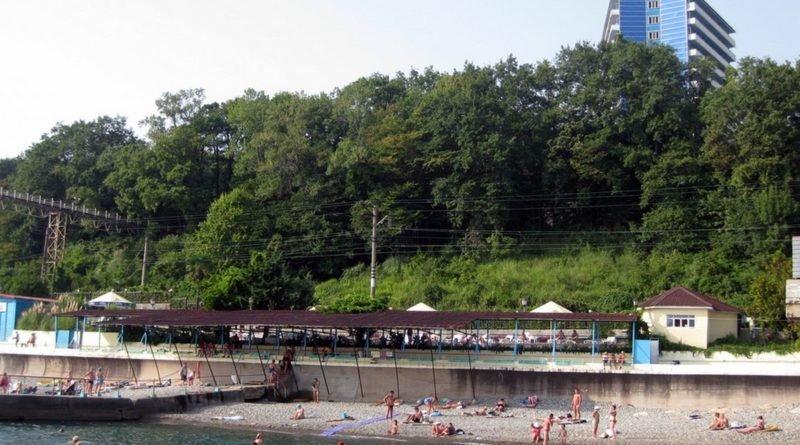 Пляж Актер Сочи