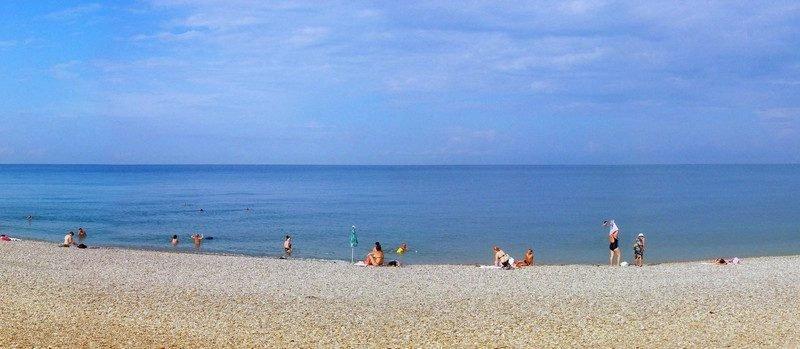 Пляж Ласточка Сочи