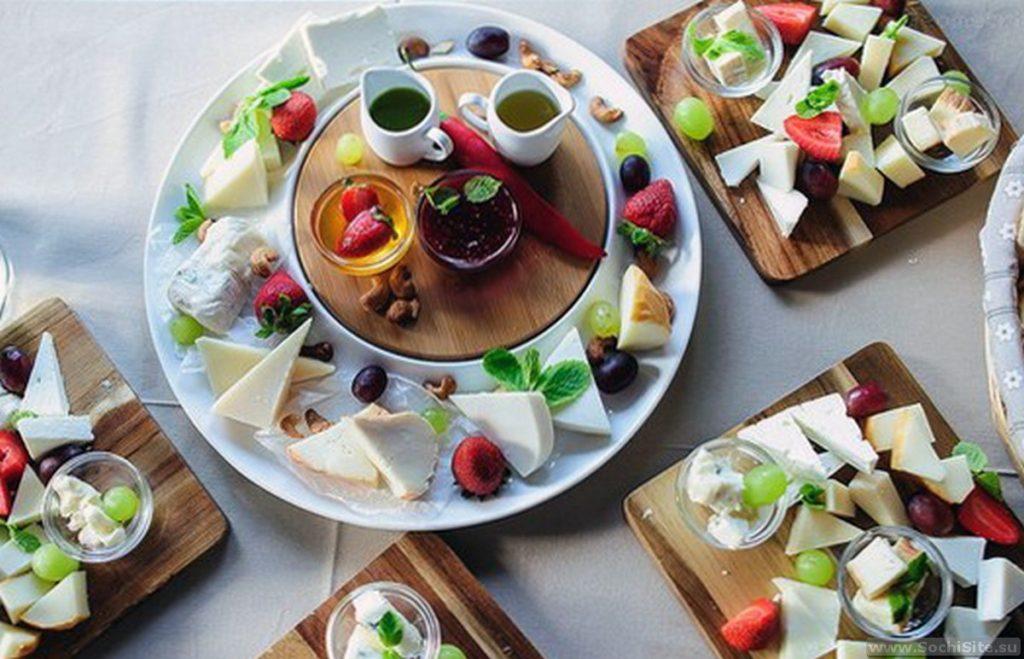Ресторан Балкон Сочи - блюда