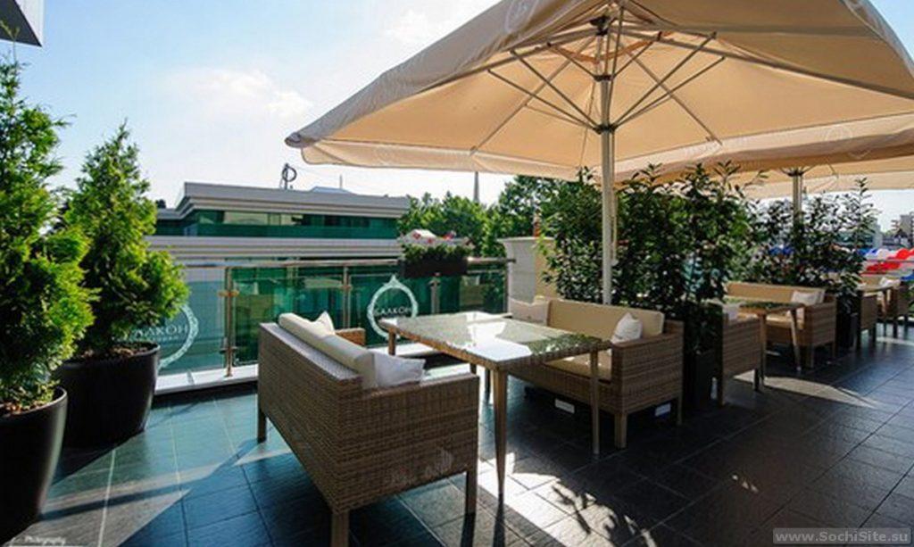 Ресторан Балкон Сочи - терраса