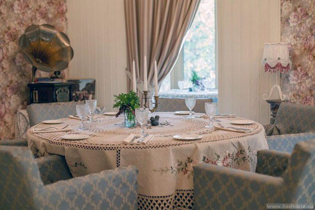 Ресторан Оливье Сочи - интерьер