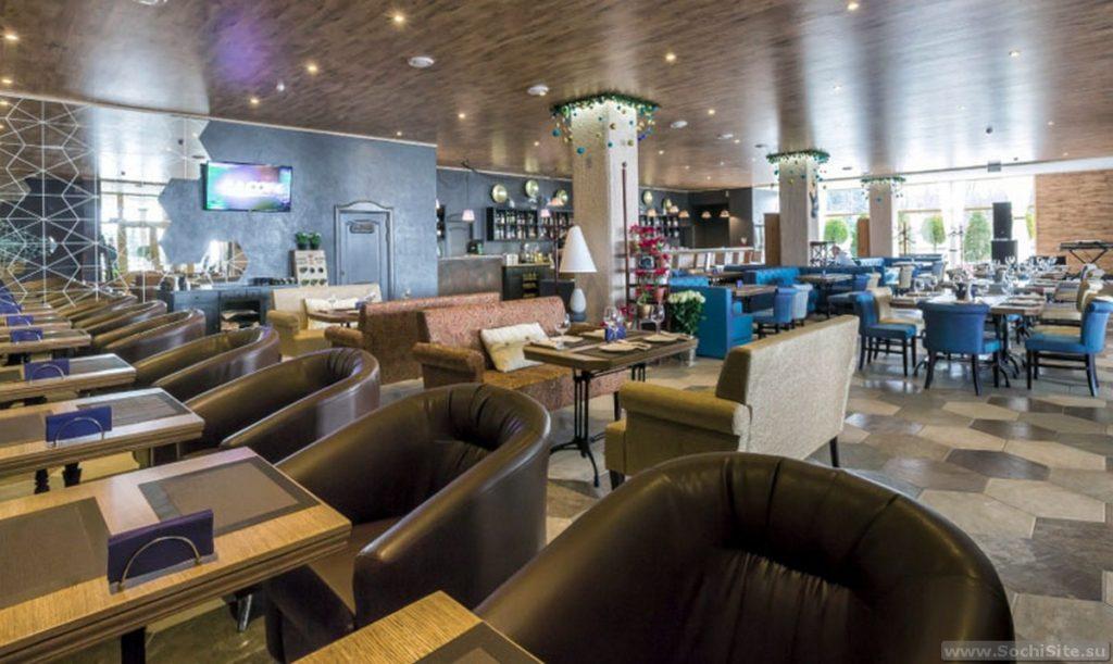 Ресторан Приправа Сочи - интерьер