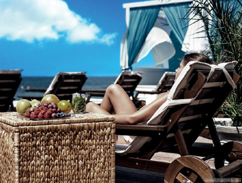 Ресторан SeaZone Сочи - пляж