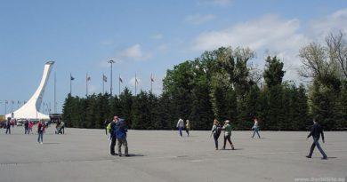 Старообрядческое Кладбище в Олимпийском парке