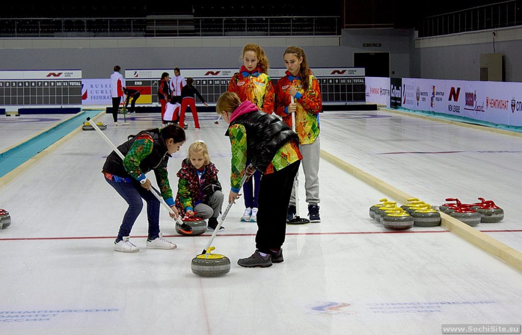 Дворец спорта Ледяной куб Сочи