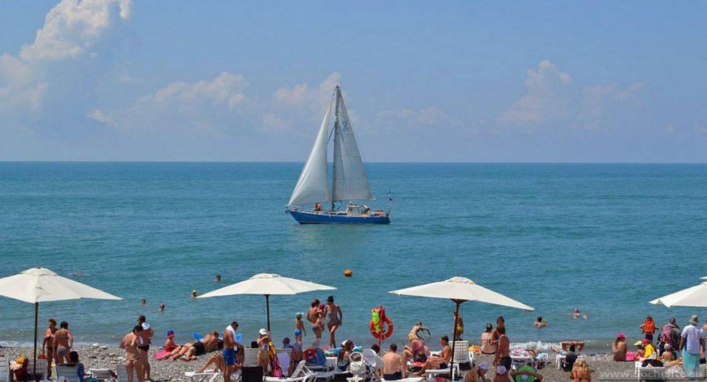 Имеретинский пляж Сочи