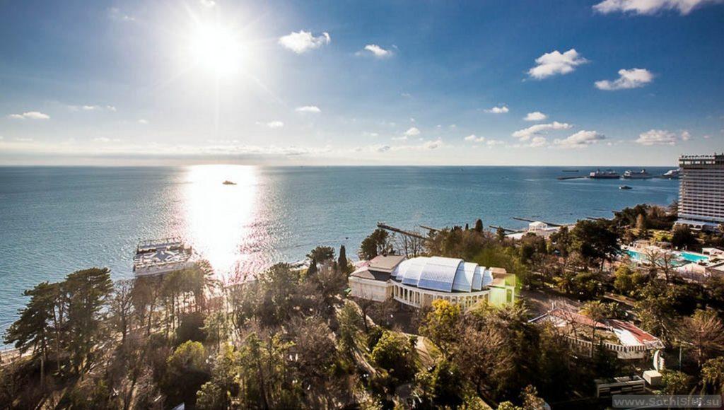Отель Sea Galaxy Сочи - вид из всех номеров