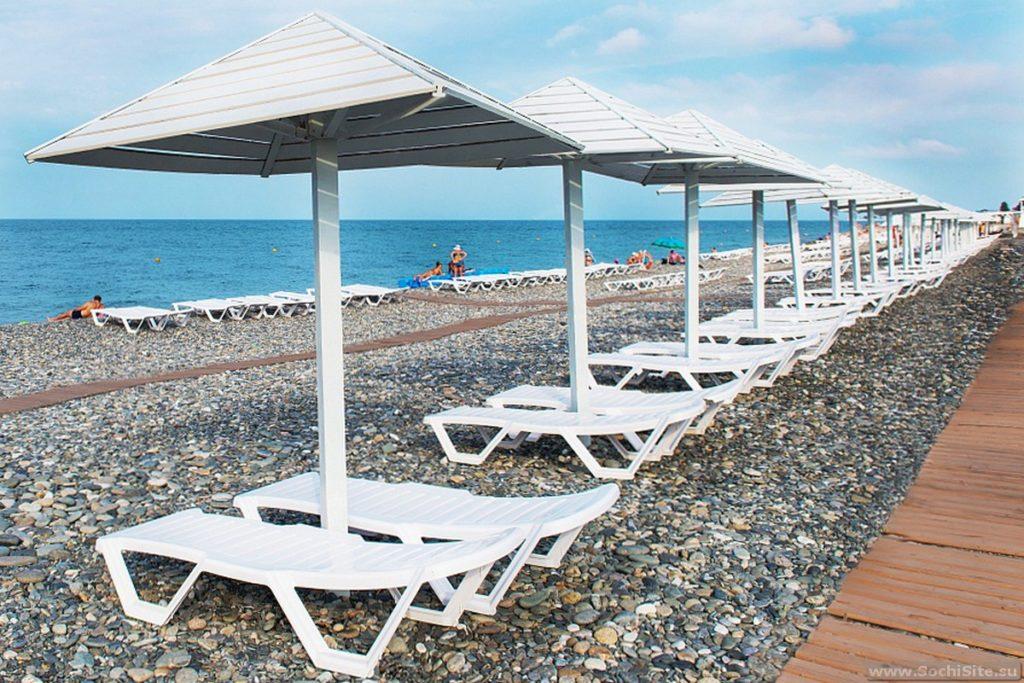 Пляж Бридж Резорт Сочи