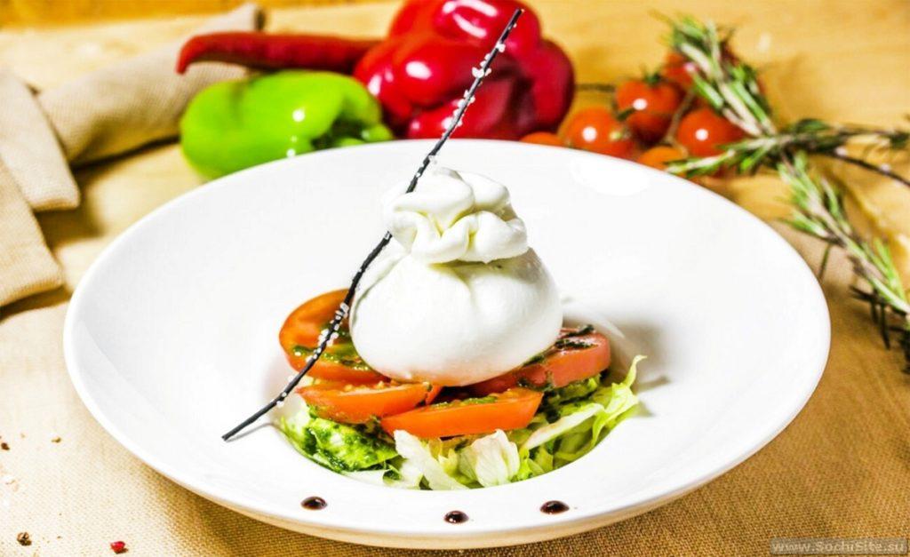 Ресторан Променад Сочи - кухня