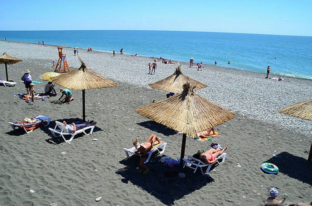 Пляж Бархатные Сезоны Сочи