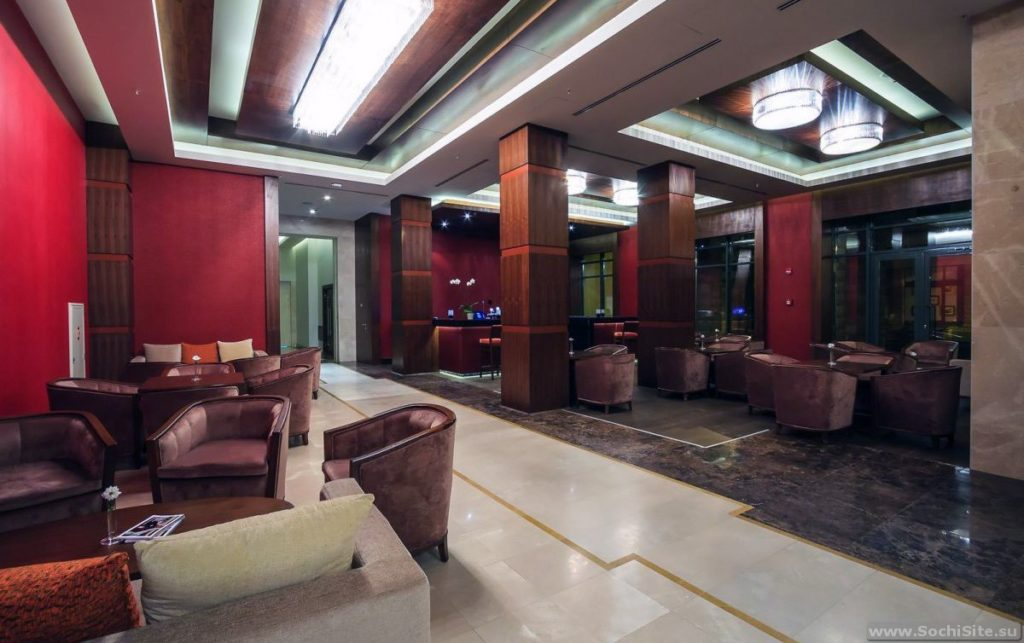 Отель Горки гранд лобби фото