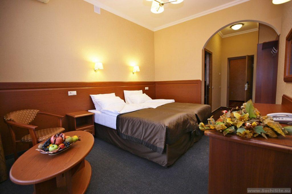 отель Роза ветров Сочи - фото номера