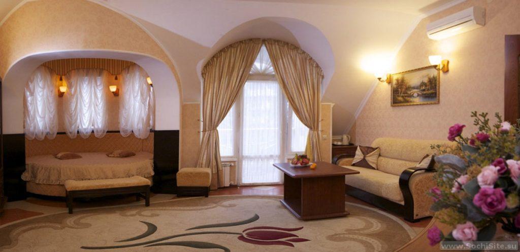 отель Роза ветров Сочи - лобби