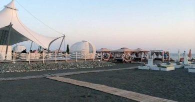 Пляж Мандарин