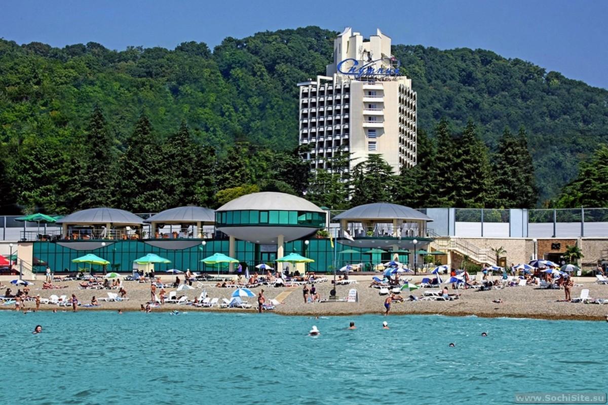Нудистский пляж в Адлере  touristerru