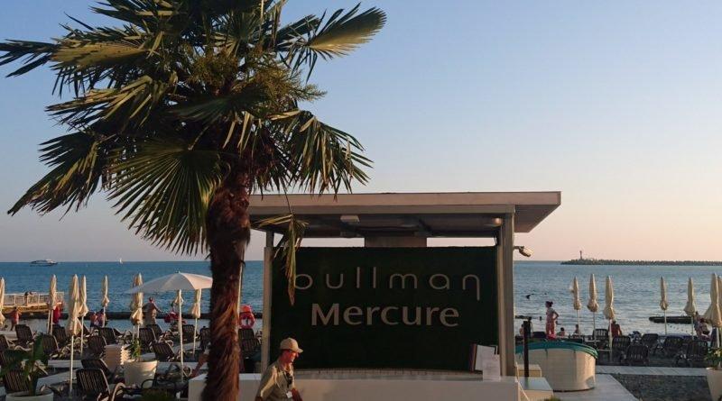 Пляж Mercure-Pullman Сочи