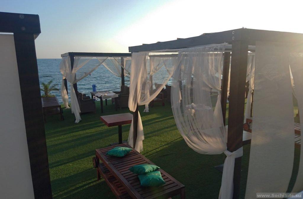 Пляж Синее море Сочи