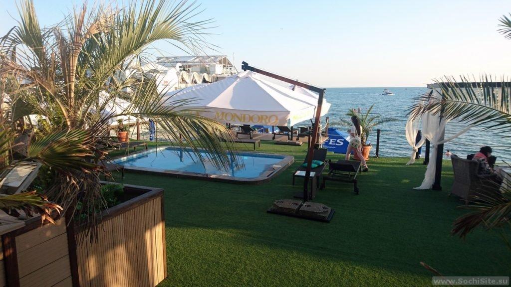 VIP-Пляж Синее море