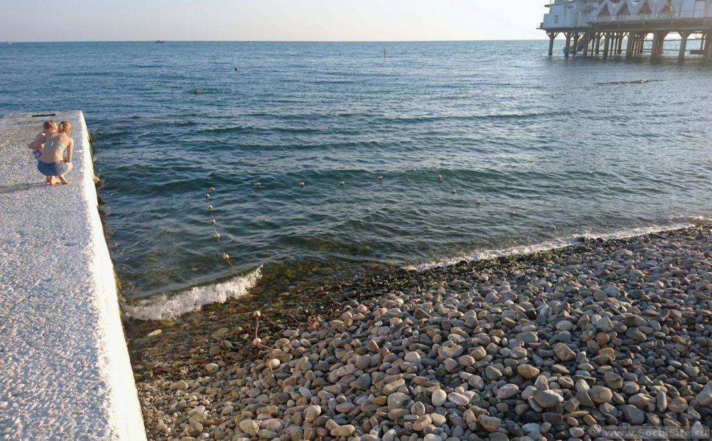 Детский пляж Цирк Сочи
