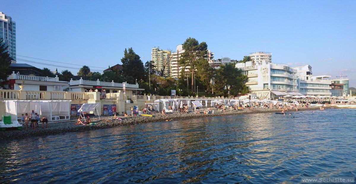 Новый Пляж Цирк Сочи в центре города - фото, как добраться