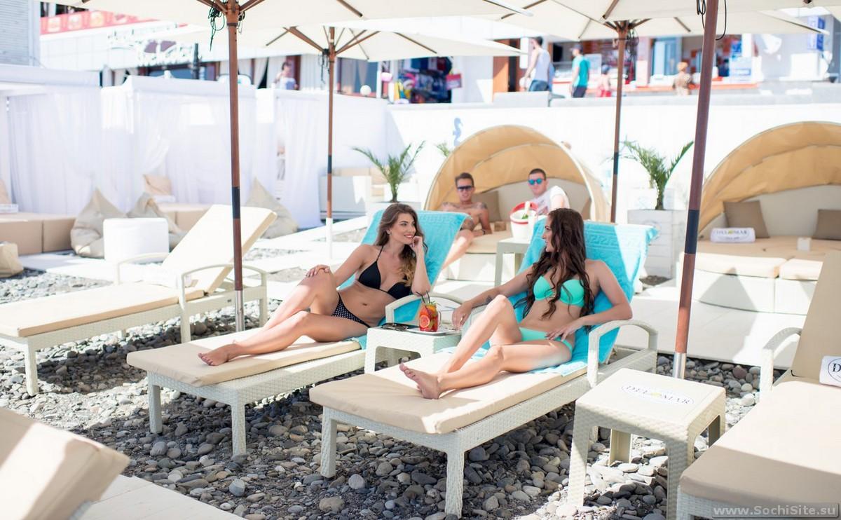 Пляж Del Mar Beach Club - фото, отзывы, как найти
