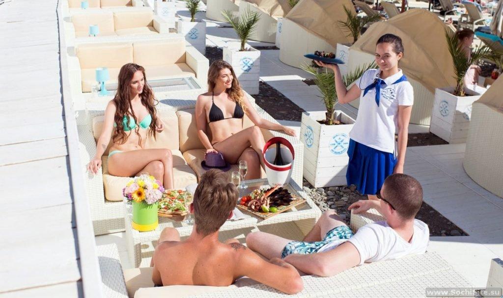 VIP - Пляж Del Mar Сочи