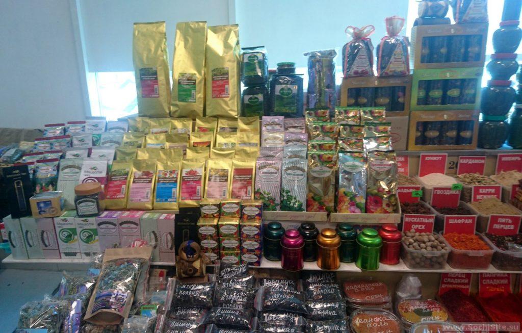 Где в Сочи купить чай Мацеста