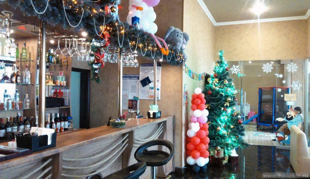 Кафе остров Сокровищ Сочи - новый год