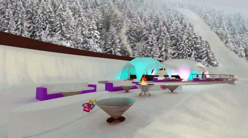 Ски-бар OZERO Красная поляна