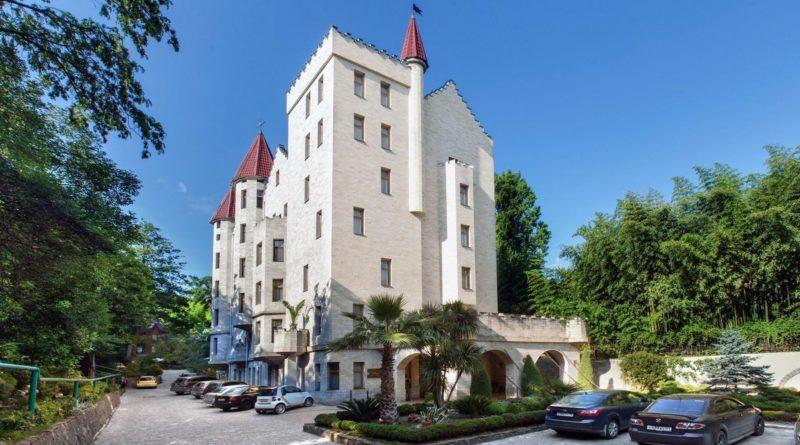 Вилла Анна Сочи - замок в центре города