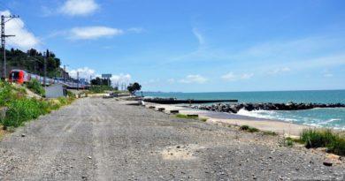 Пляж Красный штурм Сочи