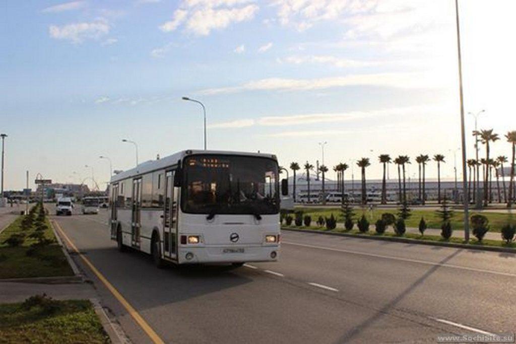 Автобус на красную поляну