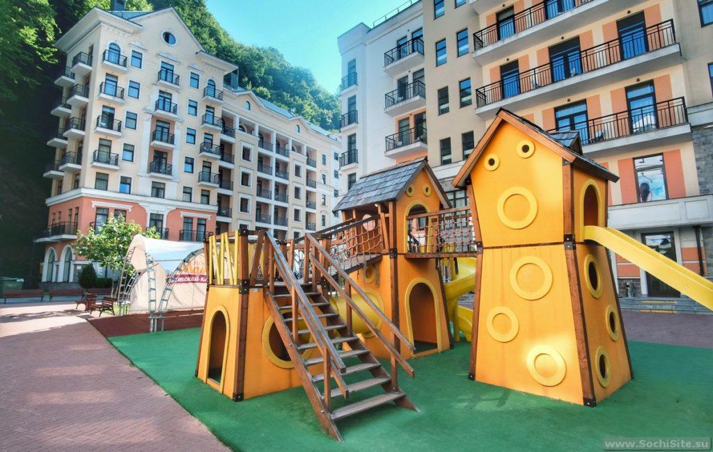Апартаменты Valset от Azimut - детская площадка
