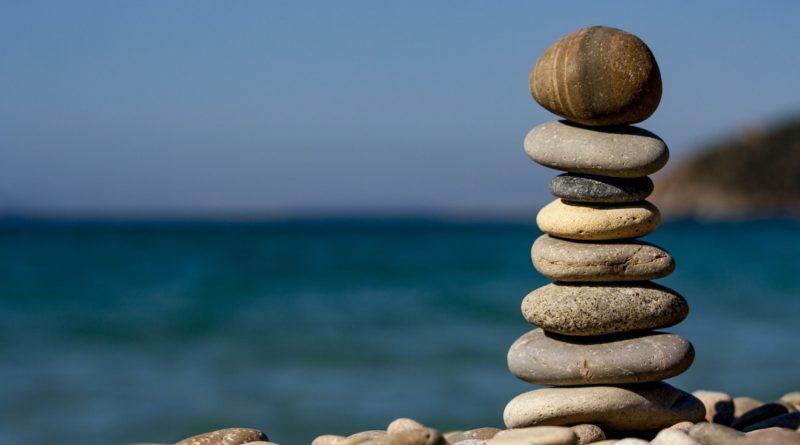 Камешки на пляже Сочи