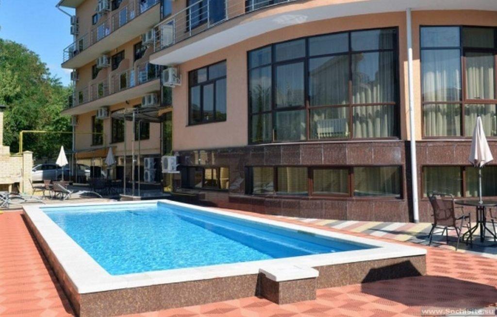 Бассейн в отеле Олимпия - Лазаревское