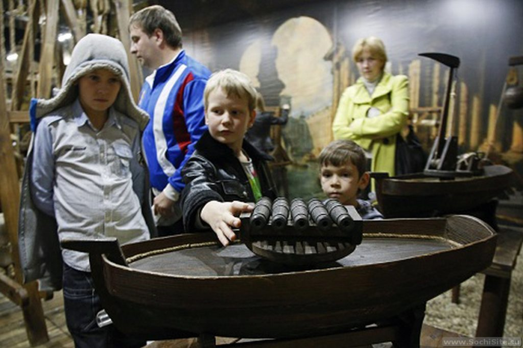 Музей Да Винчи Сочи