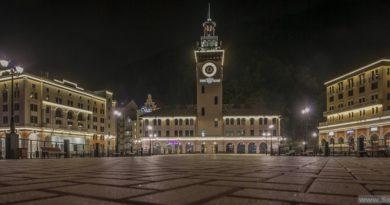 Центральная площадь Роза Хутор