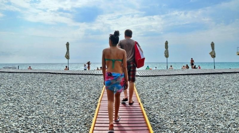 Пляж Фрегат Адлер