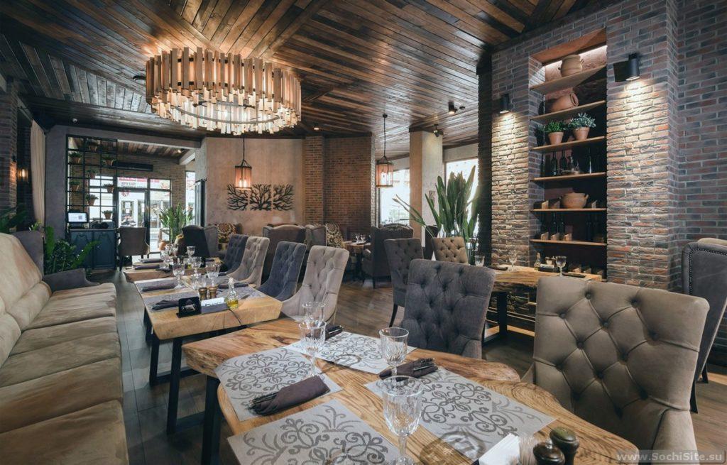 Ресторан Гостидзе - интерьер