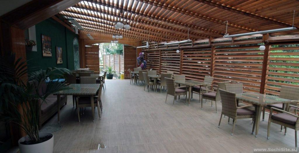 Кафе в Экодоме