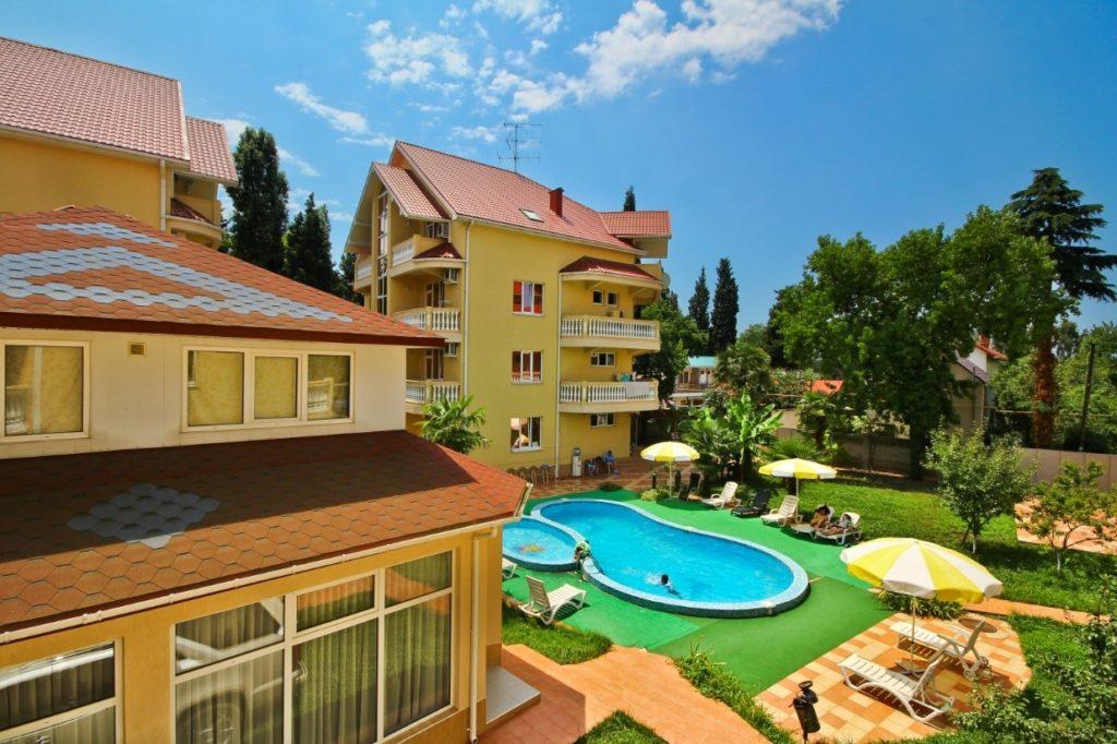 Гостевые дома в Сочи - популярное жилье для отдыха